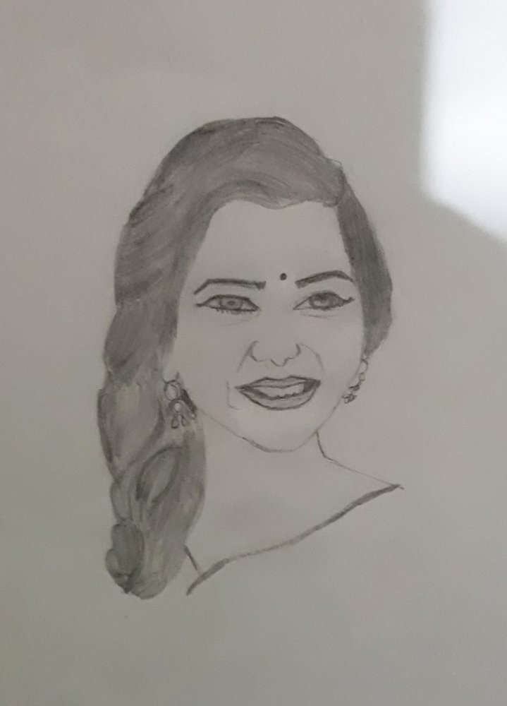 Samantha Ruth Prabhu by Thuvaraka